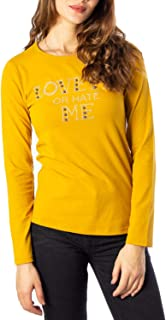 AKÈ Luxury Fashion Womens F115YALAK759YELLOW Yellow T-Shirt | Fall Winter 19