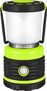 EULOCA Farol de Camping LED Regulable, 1200lm 4 Modos, Resistente al agua Linterna Camping, Lámpara para Pesca, Excursión,...