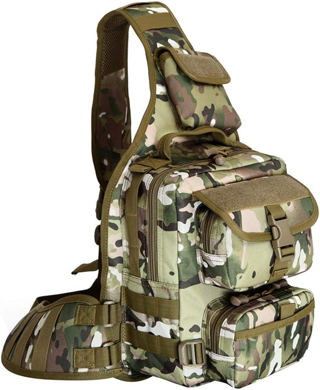 Shining Tactical Military Nylon Sport Umhngetasche, Camping Molle Tasche, wasserdichte Reisetasche Tarnung, multifunktionale Outdoor-Hand-Schrgbeutel