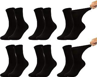 Chaussettes Hommes Sans Caoutchouc 2 Paire 98/% coton