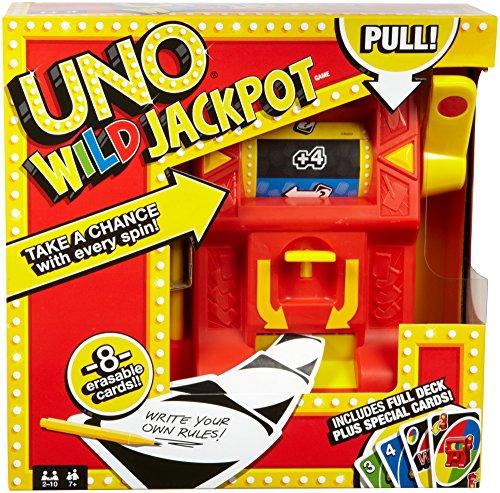 Mattel–Uno–Wild Jackpot–Gioco di Carte
