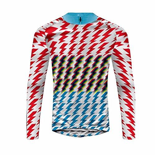 Uglyfrog Frühling Jersey Thermisches Fahrradtrikot Vlies Gemütlich Langarm Shirt Herren Breathable Radfahren Fahrrad Lange Hülsen Fahrrad Hemd Männer Langarm Fahrradbekleidung Radfahren