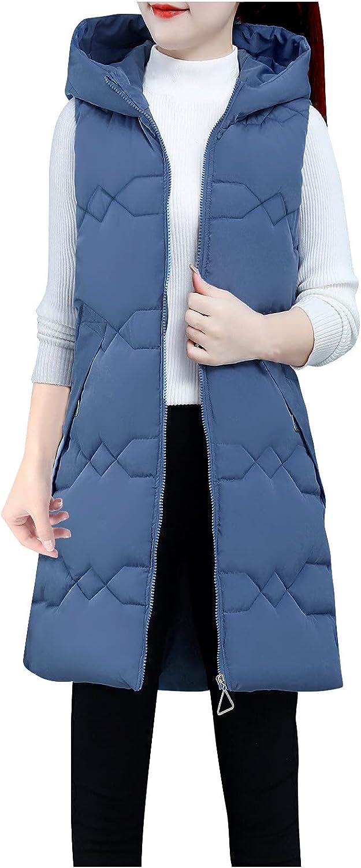 INLILE Winter Puffer Coat Women Faux Fur Warm Plus Size Windbreaker Jacket Lightweight Autumn Outwear