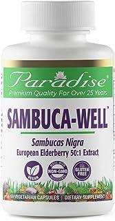 Paradise Sambuca-Well European Elderberry Extract - Sambucus Nigra - Immune Herb - Traditionally Wellness Herb