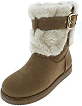 Guess Womens Amburr Round Toe Ankle Cold Weather Boots (Certified Refurbished)