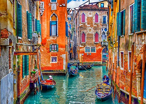 Venice 1000 Piece Jigsaw Puzzle for Adults and Children