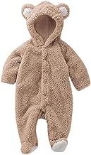 Luckyauction Baby Toddler Winter Cute Bear Fleece Romper