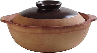 ZMYC Casserole Pot Clay Cooking Pot - Stew Pot Domestic Rice High Temperature Stew Pot (Size : 1.4L)