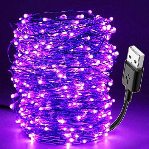 NMKL String Licht 10 Mt Led Schwarzlicht Uv String USB Weihnachten Halloween Party wasserdichte DIY Bar Lampe GermicidalHaunted House Ultraviolet