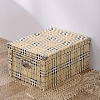 AQGELSNX Boîte de Rangement en Papier Boîte de Rangement pour Livres Boîte de Rangement Boîte de Rangement Boîte de Rangem...