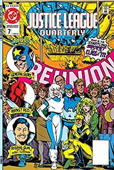 Justice League Quarterly (1990-1994) #7 by [Michael Jan Friedman, Paul Kupperberg, Pat McGreal, Kevin Dooley, Phil Jimenez, Jose Marzan Jr., Eduardo Baretto, Don Heck, Mike Vosburg, Andy Smith]