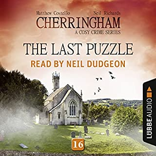 The Last Puzzle audiobook cover art