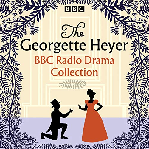 The Georgette Heyer BBC Radio Drama Collection audiobook cover art