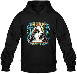 ONE 1 Mens Def Leppard Hysteria Album Cover Best Hoodie Sweatshirts