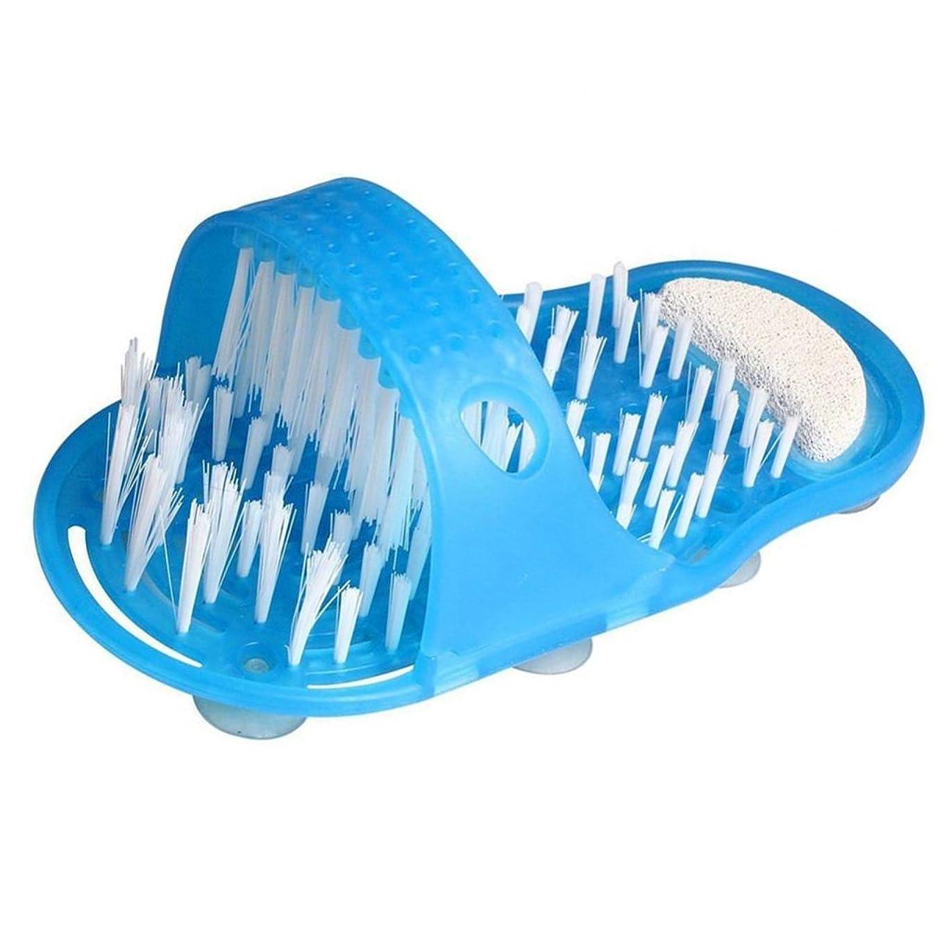再発する磁石余計なCUTICATE フットマッサージスクラバー シャワー バスルームスリッパ フィートケア マッサージャー