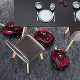 AEG VX6-2-FFP Staubsauger (mit Beutel, 800 Watt, inkl. Hartbodendüse, 9 m Aktionsradius, Softräder, 3,5 Liter Staubbeutelvolumen, Hygiene Filter E12) rot