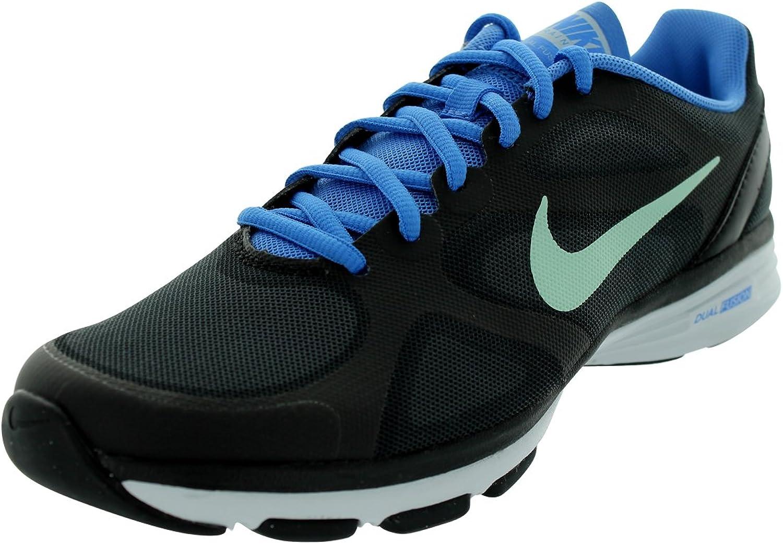 Nike Dual Fusion TR Women's Training shoes 443837 012 Black bluee - US 5.5