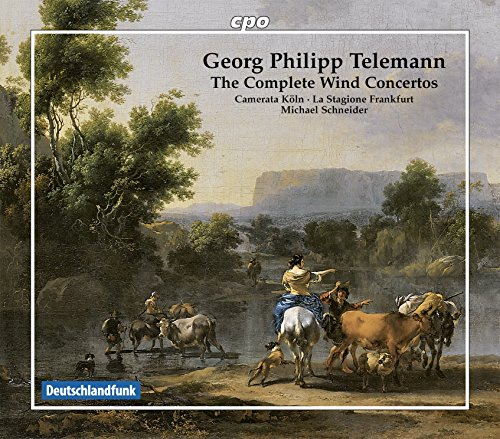 Concerto for 2 Flutes & Bass Instrument in A Minor, TWV 53:a1: II. Vivement