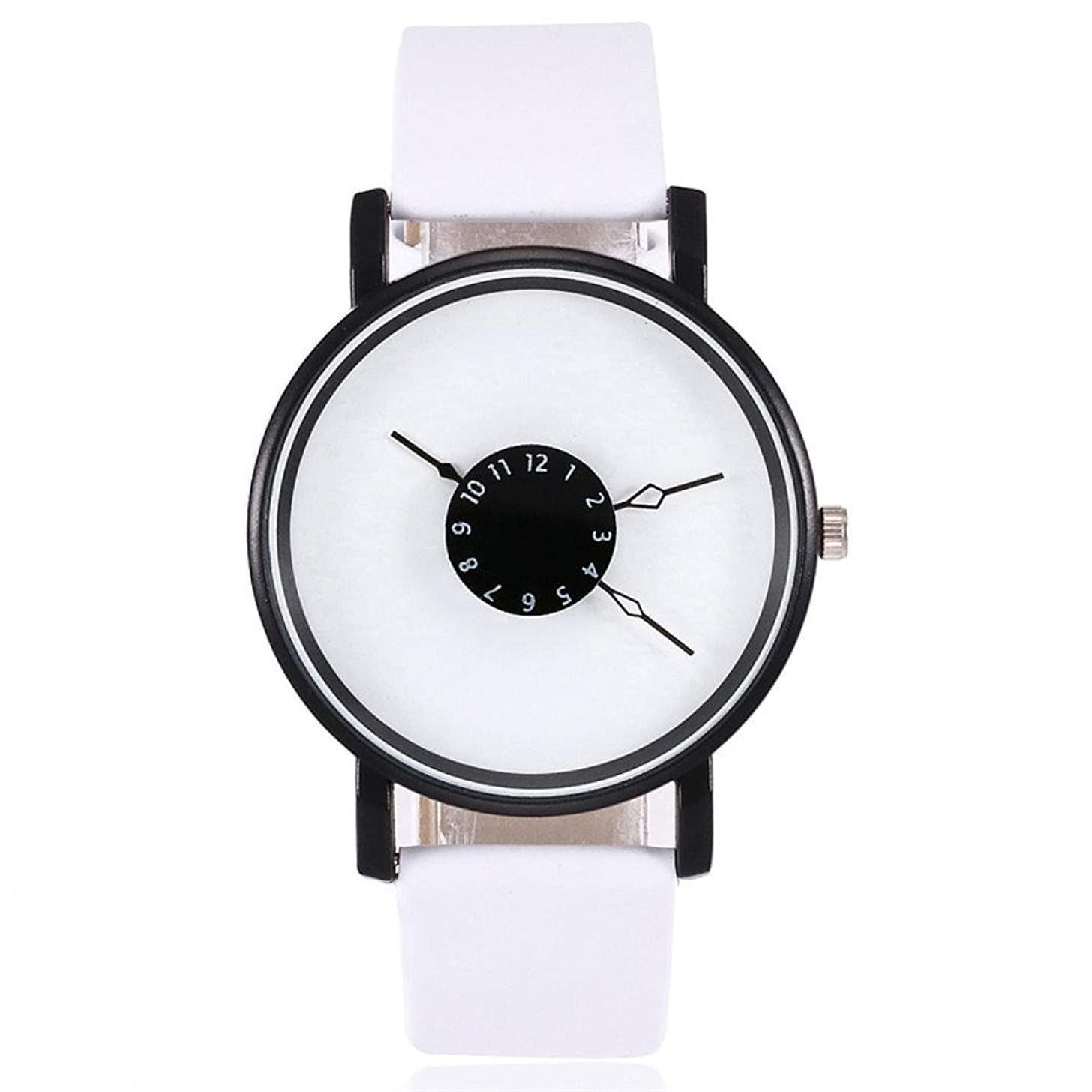 WM & MW Hot Sale Women's Watches Basic Leather Band Design Casual Quartz Watch Analog Wrist Watches