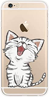 YHong iPhone 6S Cat Case,3D Emboss Painting Soft Silicon Pet Cat Case for iPhone 6,Personality Cute Cartoon Pet Design Red-Billed Cat Case,Sfot TPU Back Cover for iPhone 6s/ 6