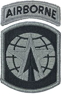 16th Military Police Brigade Patch includes AIRBORNE Tab - choose one of Four Styles (ACU FOLIAGE GREEN)