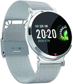 YUANP Monitor De SueñO Inteligente Reloj Deportivo con PulsóMetro, PodóMetro, CaloríAs Mujer Hombre para iOS Y Android。