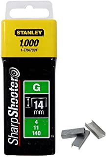 Stanley 1-TRA709T 14mm Heavy-Duty Staple (1000 Pieces)
