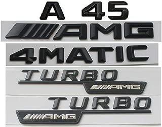 a45 amg black badges