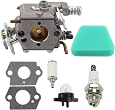 Yermax 545081885 Carburetor Kit for Poulan Chainsaw 1900 1950 1975 2025 2050 2075 2150 2375 Wild Thing 2375LE Replace 530071619, 530071620