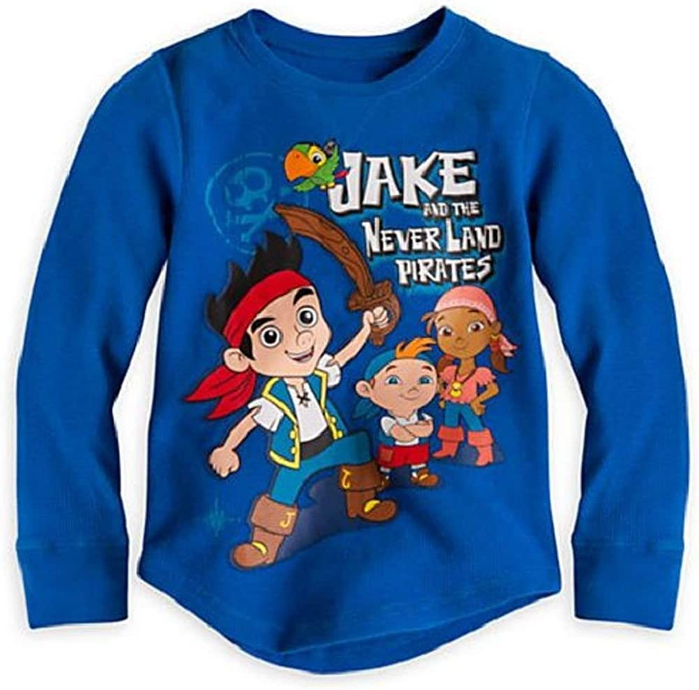 Disney Store Jake and The Never Pirates 35% OFF Long Land Boy Sleeve free shipping