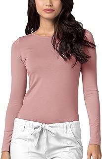 Adar Womens Comfort Long Sleeve T-Shirt Underscrub Tee