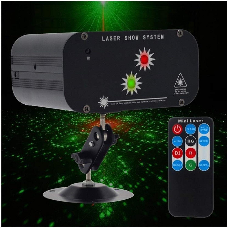 Disco Lights Strobe Light 48 Patterns Disco Flash Lighting RGB Bühnenprojektionslampe Sprachsteuerung Für Party Bars Club -610