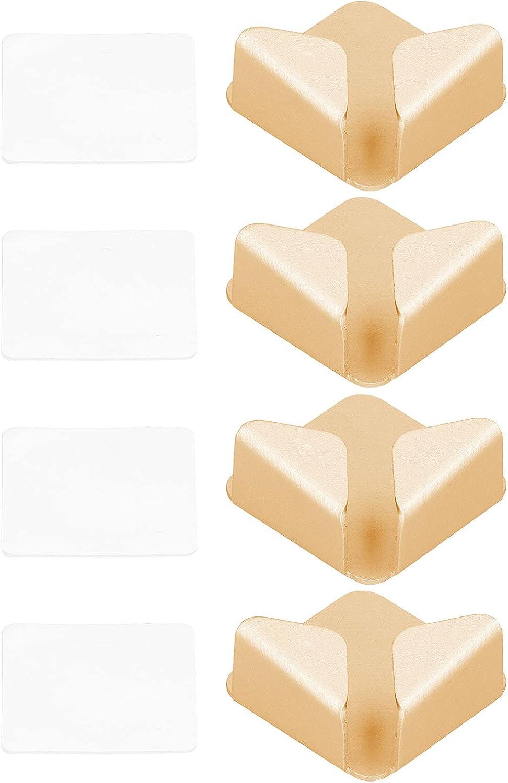 Gaeirt 4pcs Power Cord Rack, Punch‑Free Aluminum Alloy Power Cord Storage Bracket Nordic Simply for Bathroom Balcony, Kitchen, Hotel