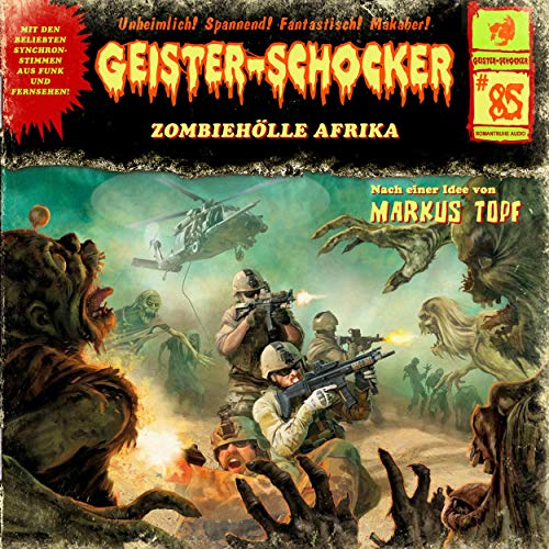 Zombie-Hölle Afrika cover art