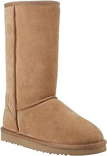 Women-Winter-Warm-Snow Waterproof Leather Boots Shoes