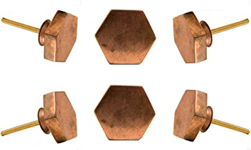 15 BIGBOBA 2 St/ück Einfach Mini Kupfer Behandeln T/ür Kabinett Schublade Behandeln Zubeh/ör Kleiderschrank Kabinett Legierung Behandeln Behandeln Dekoration Golden 17mm