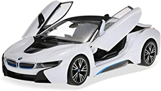 Rastar Licensed 1:14 Scale BMW i8 Open Gull Wing Door Remote Controlled Sports Car