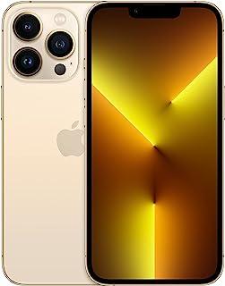 جوال ابل ايفون 13 برو الجديد مع تطبيق فيس تايم (128 جيجا) - ذهبي