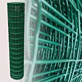 25 Meter Gartenzaun Grün Maschenweite 5 x 10 cm (120cm)