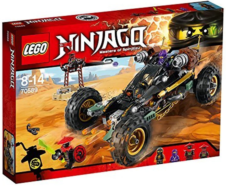 Lego Ninja Go blaster powered racer 70589 by LEGO