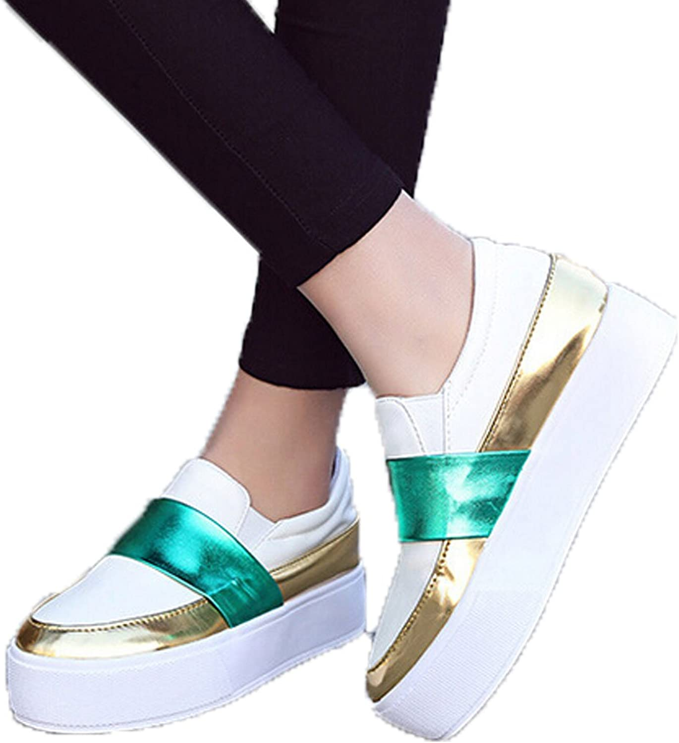 San hojas Loafers Flat Spring Style Casual shoes for Students Black