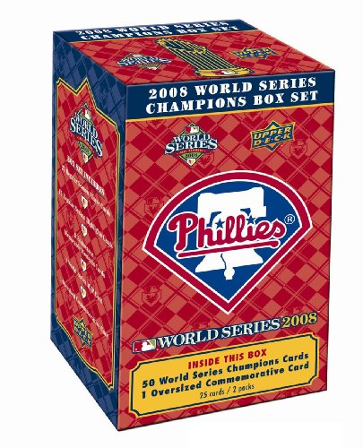Philadelphia Phillies Upper Deck MLB 2008 World Series Champions Commemorative Box Set