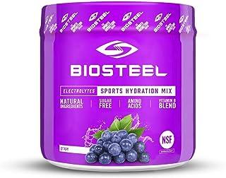 BioSteel Hydration Mix - Sugar Free, Essential Electrolyte Sports Drink Powder - Grape - 20 Servings