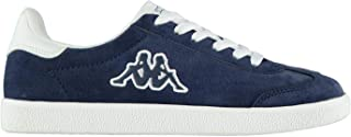 Official Brand Kappa Valle Trainers Juniors Boys Navy/White Shoes Sneakers Kids Footwear