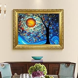 Faraway Dream Tree Van Gogh Full Round Diamond Painting Crystal Diamond Bedroom Rhinestone Embroidery for Wall Decor 16X20inch