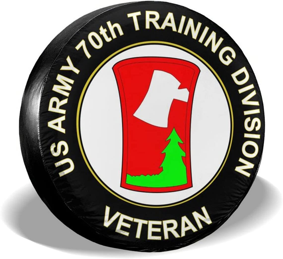 Sales for sale Babyjoey Us Army 70th Training Tire Cover Division Spare Veteran Limited price