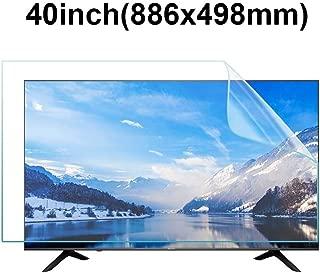KUYUC 40 inchs TV Screen Protector, Anti Blue Light Eye Protection Screen Filter, Anti-Glare Anti-Scratch Screen Protector, Filter Film Reduce Eye Fatigue (Size : B)
