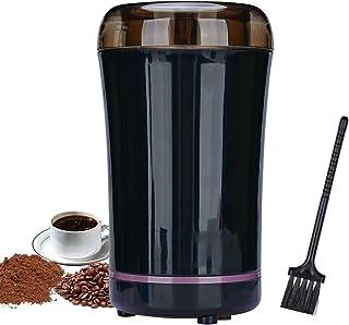 Podazz Elektrisk kaffekvarn, livsmedelsgodkänd 304 rostfritt stålblad, 50 G kapacitet 30 000 r/min, kompakt och bärbar, an...