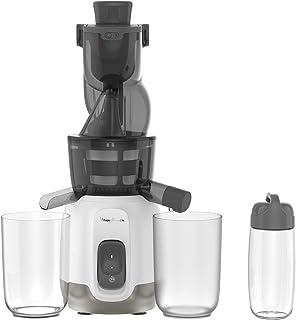 MOULINEX ULTRA JUICE EXTRACTEUR de jus à froid 2 filtres Gourde 600 mLGoulotte Extra-large 85 mm Programme automatique Ea...