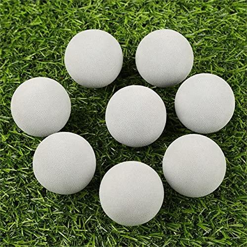 20pcs/Bag Golf Balls EVA Foam Soft Sponge Balls for Golf/Tennis Training Solid Color for Outdoor Golf Practice Balls - Dark Grey